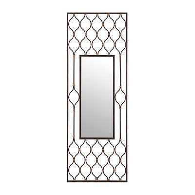 Dinah Bronze Framed Mirror, 17x45