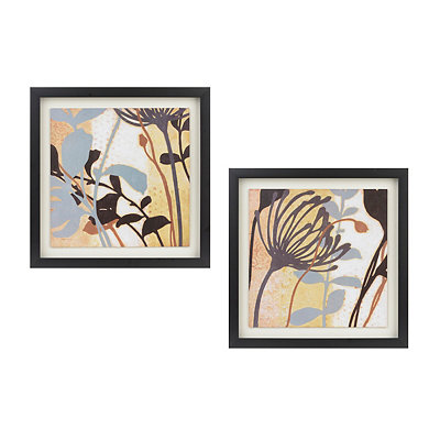 Plant Life Framed Art Prints, Set of 2