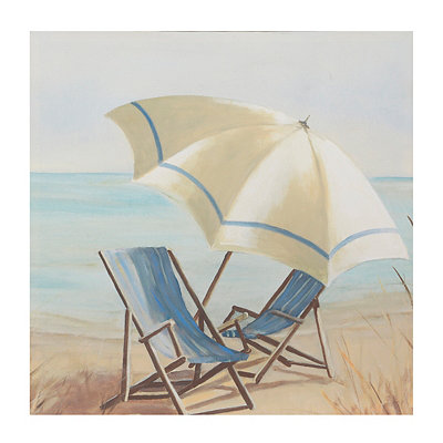 Summer Vacation Canvas Art Print