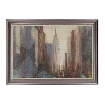 Urban Movement Framed Art Print