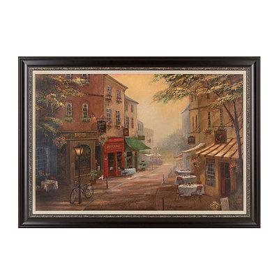 Bogey's Pub Framed Art Print