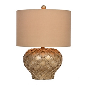 Raised Petals Table Lamp