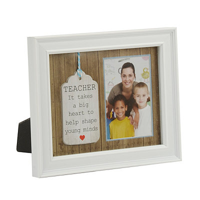 Teacher's Heart Picture Frame, 3.5x5