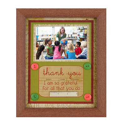 Thank You Teacher Picture Frame, 4x6