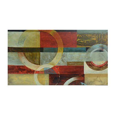 Earths Collide Canvas Art Print