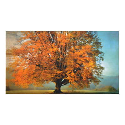 Autumn Passion Canvas Art Print