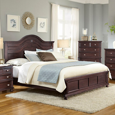 Bryson Cappuccino Queen Bed