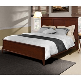 Franklin Dark Walnut Queen Bed