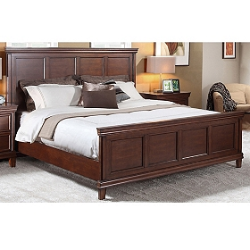 Hamilton Chestnut Queen Bed