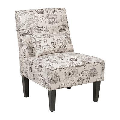 Parisian Cambria Slipper Chair