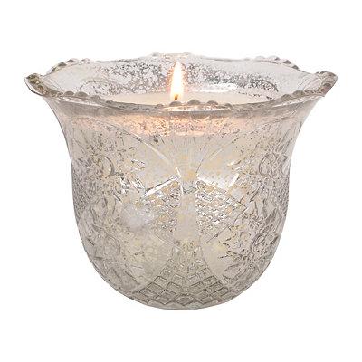 Thyme & Juniper Silver Mercury Star Candle