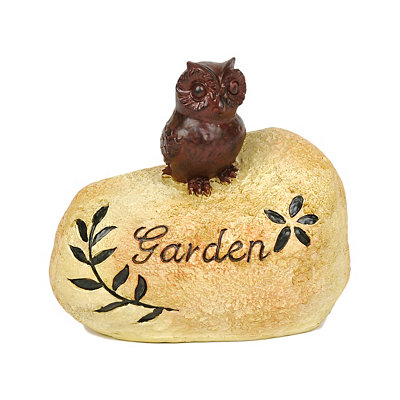 Owl Garden Key Hider
