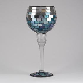 Blue and Silver Mosaic Charisma