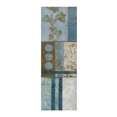 Blue Olsen I Canvas Art Print