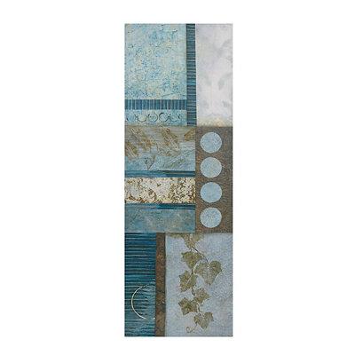 Blue Olsen II Canvas Art Print