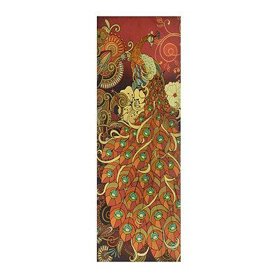 Zentangle Peacock I Canvas Art Print