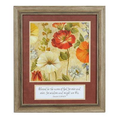 Praise the Name Framed Art Print