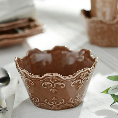 Chocolate Sweet Olive Cereal Bowl