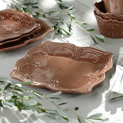 Chocolate Sweet Olive Dinner Plate