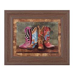 Cowboy Boots II Framed Art Print