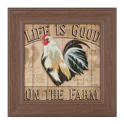 Life Is Good Framed Art Print