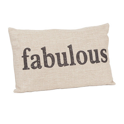 Fabulous Linen Pillow