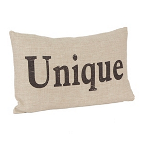 Unique Linen Pillow
