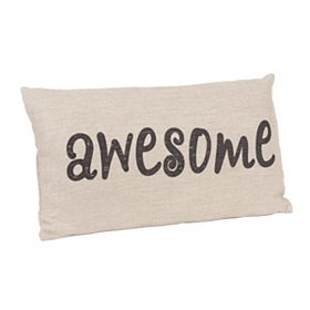 Awesome Linen Pillow
