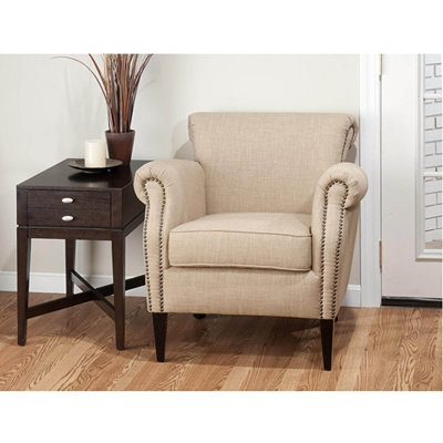 Emma Oatmeal Arm Chair