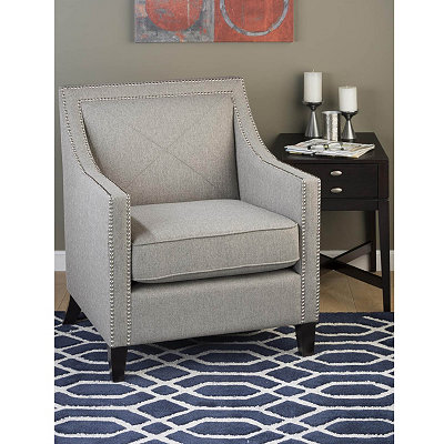 Luca Ash Gray Arm Chair