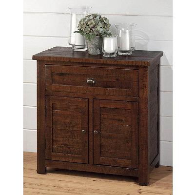Brown Acacia Cabinet