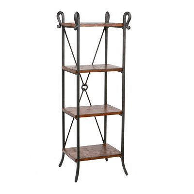 Distressed Pine Etagere