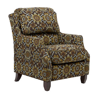 Lusitania Floral Arm Chair