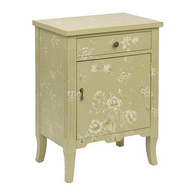 Light Sage Wildflower Cabinet