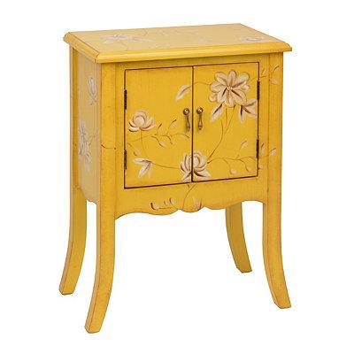 Yellow Wildflower Cabinet