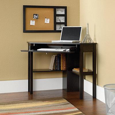 Cinnamon Cherry Corner Computer Desk