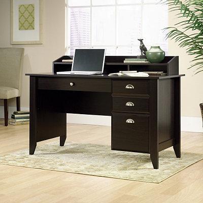 Shoal Creek Jamocha 3-Drawer Desk