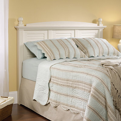 Harbor View Antique White Queen Headboard
