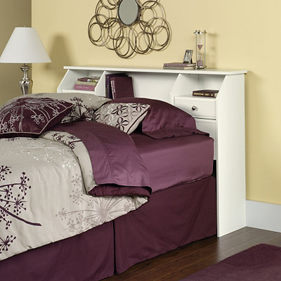 Shoal Creek Soft White Full/Queen Headboard