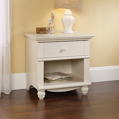Harbor View Antique White Nightstand