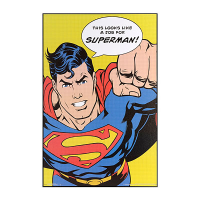 A Job for Superman Framed Art Print