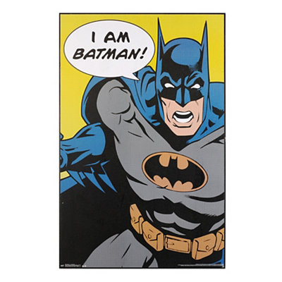 I Am Batman Framed Art Print