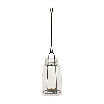 Hanging Mason Jar Tealight Lantern