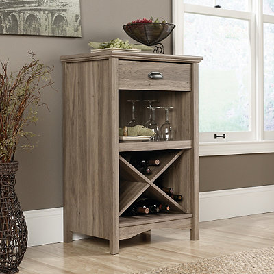 Harbor View Light Oak Accent Table
