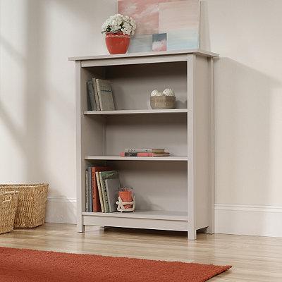 Cottage Cobblestone Gray Bookcase