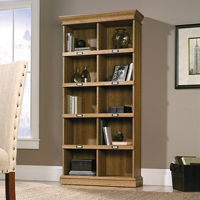 Barrister Lane Scribed Oak Tall Bookcase