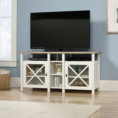 Cottage White Media Console