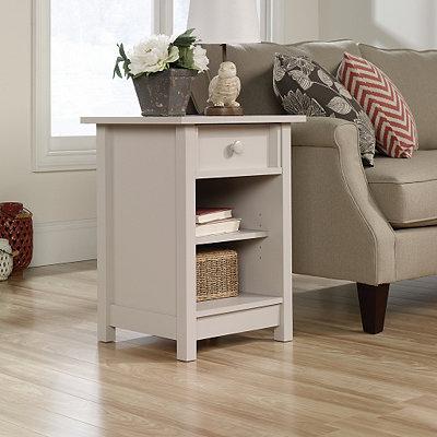 Cottage Cobblestone Gray Side Table