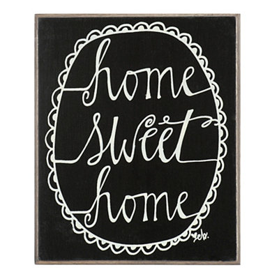 Home Sweet Home Word Block