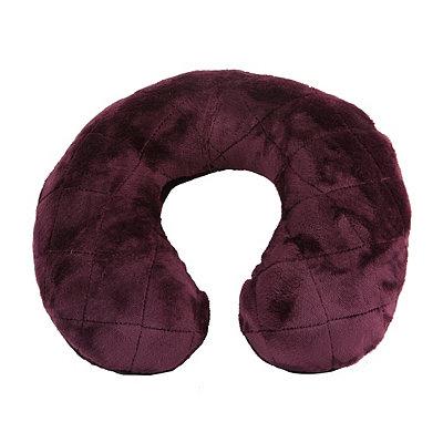 Purple Memory Foam Neck Pillow